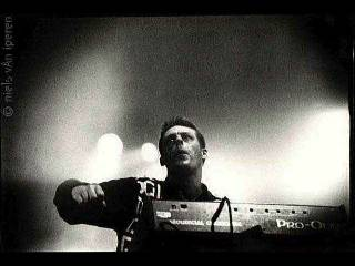 Martin Price of 808state in the Netherlands 1991